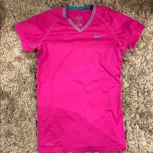 💰10 for $40/Nike DriFit Hot Pink Workout Shirt